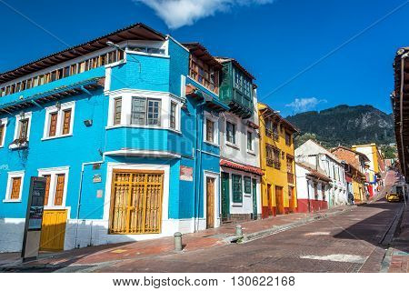 Bogota, Colombia Street Corner