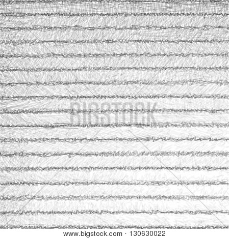 horizontal striped black hatch sketch pencil over white