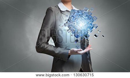 Modern technology integration concept