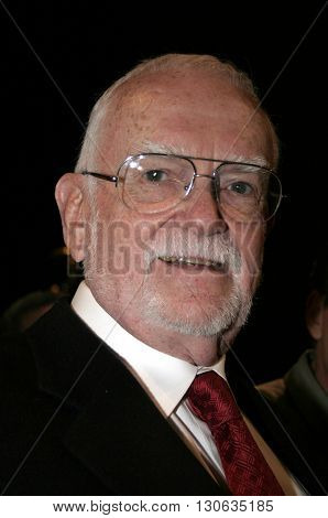 Frank Pierson at the 77th Annual Academy Awards Nominations Announcement held at the Samuel Goldwyn Theater AMPAS in Beverly Hills, USA on January 25, 2005.