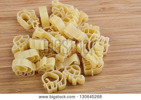 Raw Macaroni For Kids