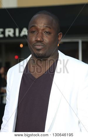 LOS ANGELES - MAY 20:  Hannibal Buress at the Neighbors 2: Sorority Rising American Premiere at Village Theater on May 20, 2016 in Westwood, CA