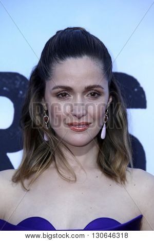 LOS ANGELES - MAY 20:  Rose Byrne at the Neighbors 2: Sorority Rising American Premiere at Village Theater on May 20, 2016 in Westwood, CA