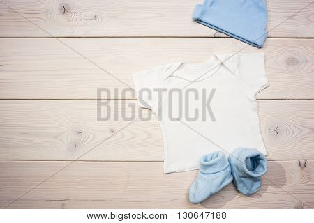 Baby Apparel On Table