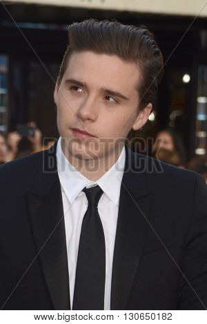 LOS ANGELES - MAY 20:  Brooklyn Beckham at the Neighbors 2: Sorority Rising American Premiere at Village Theater on May 20, 2016 in Westwood, CA