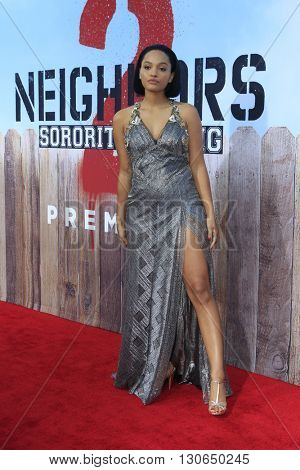 LOS ANGELES - MAY 20:  Kiersey Clemons at the Neighbors 2: Sorority Rising American Premiere at Village Theater on May 20, 2016 in Westwood, CA