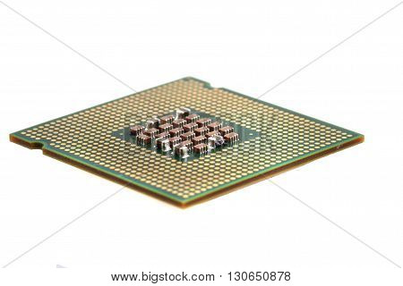 Computer Chip Isolated