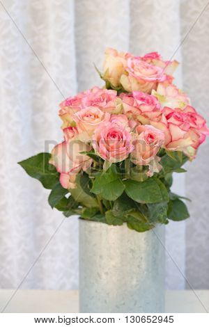 flower bouquets , bunch of Pink Rose flowers