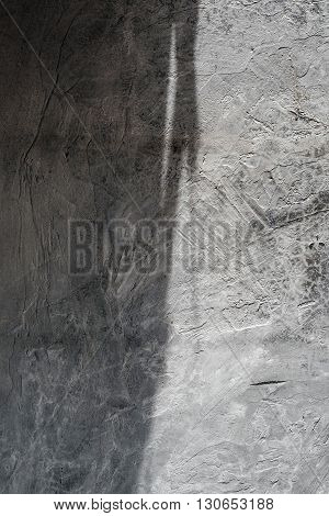 Concrete texture with shade and shadow, vertical