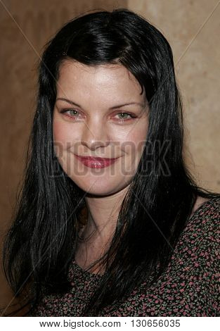 Pauley Perrette at the 57th Annual ACE Eddie Awards held at the Beverly Hills Hotel in Beverly Hills, USA on February 18, 2007.