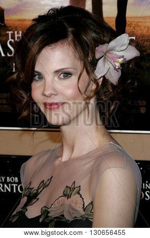 Kiersten Warren at the Los Angeles premiere of 'The Astronaut Farmer' held at the Cinerama Dome in Hollywood, USA on February 20, 2007.
