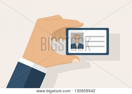Id Card Hand