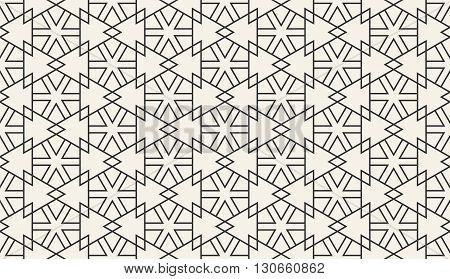 Arabic wallpaper pattern. Eastern pattern. Vector illustration of abstract seamless geometric islamic wallpaper pattern for your design