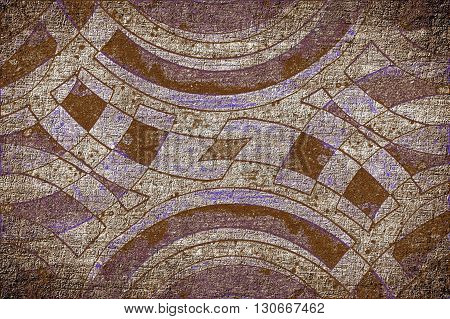 art grunge ragged abstract pattern illustration background