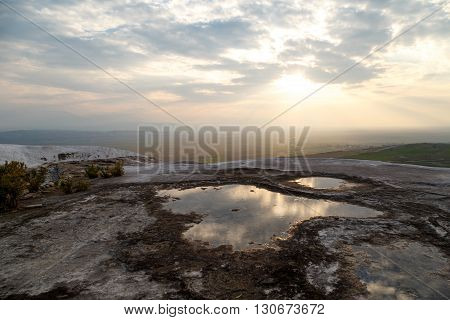 Pamukkale Travertine View