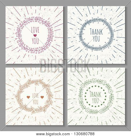 Set of Retro Sun burst shapes for your next vintage design project. Collection of Sun ray frames vector design elements .