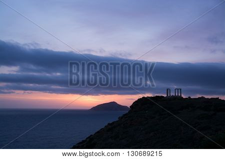 Temple At Cape Sounion, Greece