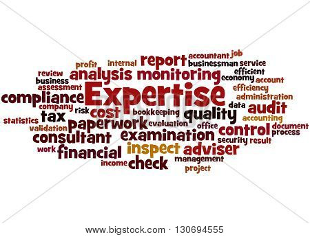 Expertise, Word Cloud Concept 9