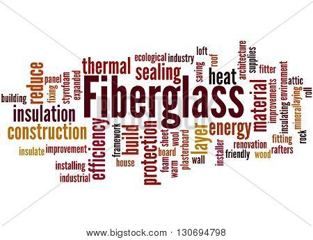 Fiberglass, Word Cloud Concept 7