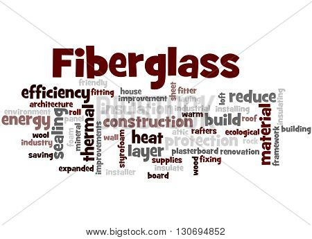 Fiberglass, Word Cloud Concept 9