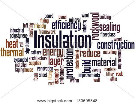 Insulation, Word Cloud Concept 7