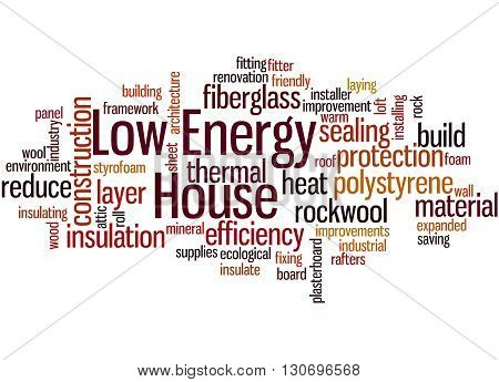 Low Energy House, Word Cloud Concept 9