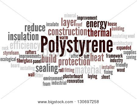 Polystyrene, Word Cloud Concept