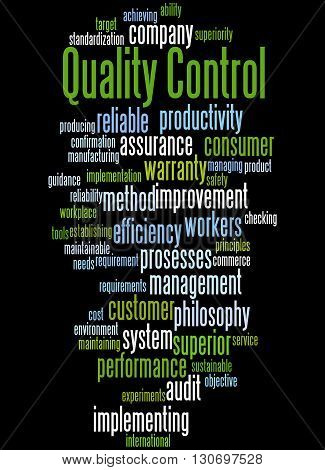 Quality Control, Word Cloud Concept 9