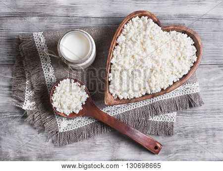 Granulated Cottage Cheese Food Photo
