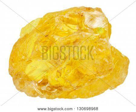 Native Sulfur ( Sulphur) Mineral Isolated