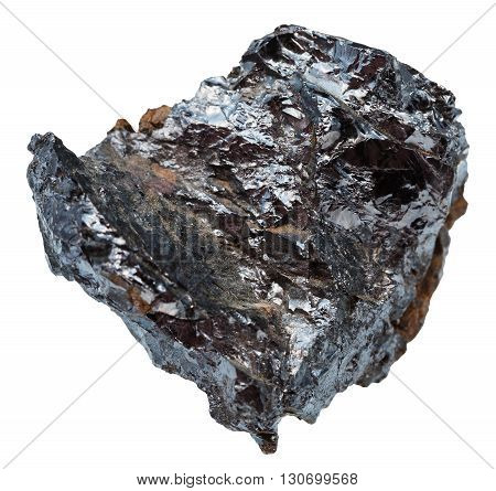 Specimen Of Ilmenorutile (nb-bearing Rutile)
