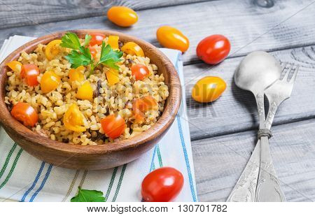 Bulgur  Food Photo