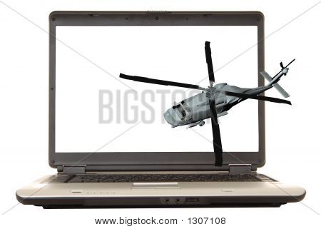 Laptop Helicopter