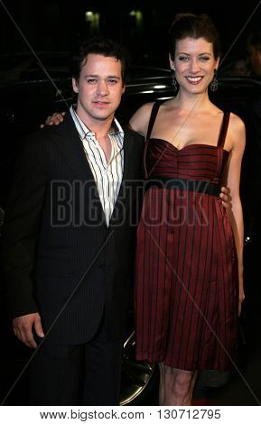 T.R. Knight and Kate Walsh at the Los Angeles premiere of 'Music and Lyrics' held at the Grauman's Chinese Theater in Hollywood, USA on February 7, 2006.