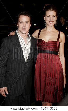 Kate Walsh and T.R. Knight at the Los Angeles premiere of 'Music and Lyrics' held at the Grauman's Chinese Theater in Hollywood, USA on February 7, 2006.