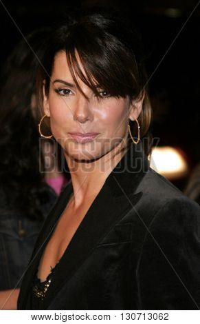 Sandra Bullock at the Los Angeles premiere of 'Music and Lyrics' held at the Grauman's Chinese Theater in Hollywood, USA on February 7, 2006.
