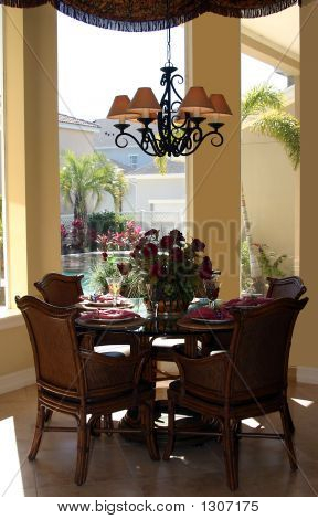Stylish Casual Dining Area