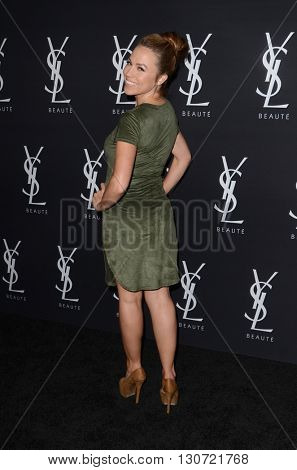 LOS ANGELES - MAY 19:  Jessica Hall at the Zoe Kravitz Celebrates Her New Role With Yves Saint Laurent Beauty at Gibson Brands Sunset on May 19, 2016 in West Hollywood, CA