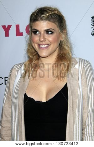 LOS ANGELES - MAY 12:  Molly Tarlov at the NYLON Young Hollywood May Issue Event at HYDE Sunset on May 12, 2016 in Los Angeles, CA