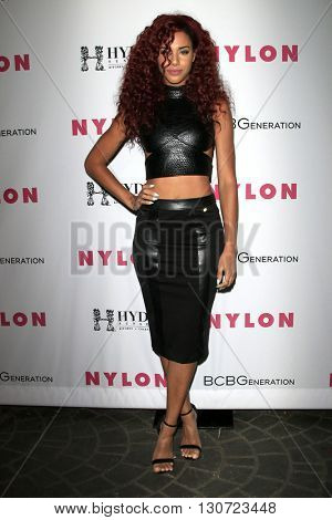 LOS ANGELES - MAY 12:  Natalie La Rose at the NYLON Young Hollywood May Issue Event at HYDE Sunset on May 12, 2016 in Los Angeles, CA