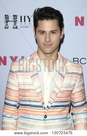 LOS ANGELES - MAY 12:  Michael Willett at the NYLON Young Hollywood May Issue Event at HYDE Sunset on May 12, 2016 in Los Angeles, CA