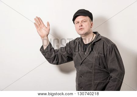 Excited Man Pointing Great Idea