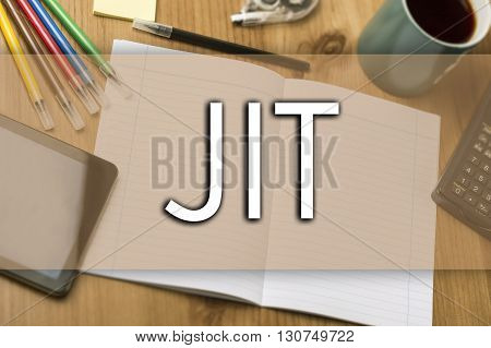 Jit - Business Concept With Text