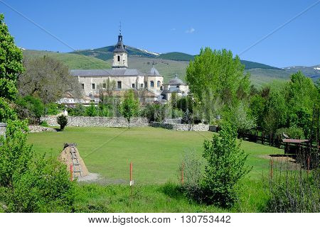 Fourteenth century former monastery in the mountains of Madrid