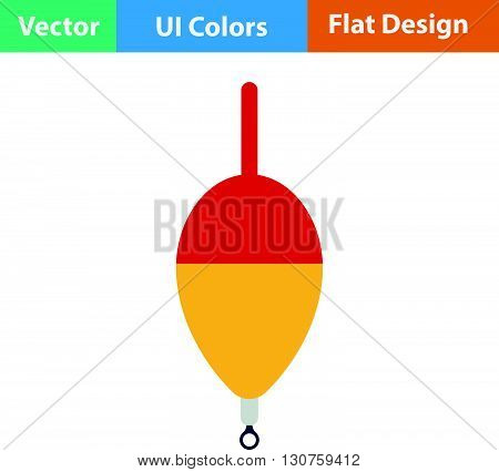 Flat Design Icon Of Float