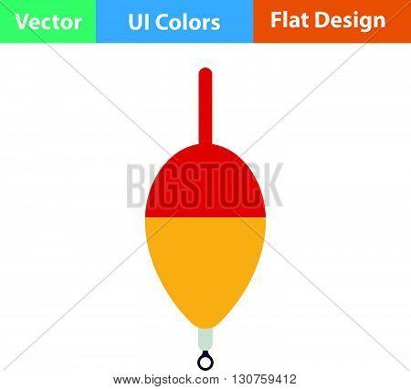 Flat Design Icon Of Float