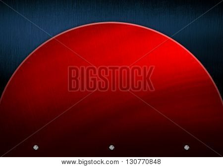 red metal pattern background