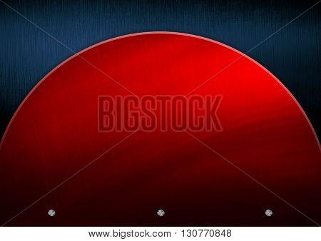 red metal pattern background