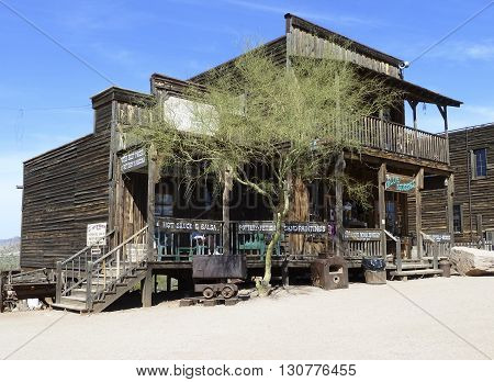 Old Shop  In Goldfield Ghost Town