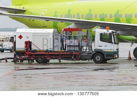Aerodrome Car Tanker